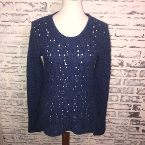 Free People Long Sleeve Sweater Wool Blend